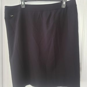 3/$25 Calvin Klein straight black skirt sz 20